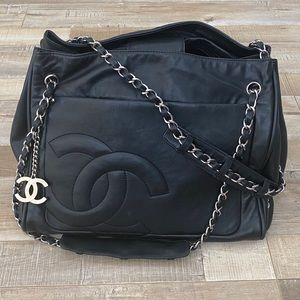 ⭐️ CHANEL Classic Carryall Shoulder Bag Purse